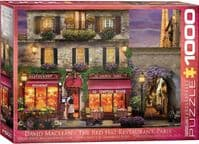 The Red Hat Restaurant Paris  - 1000 Pieces |Yorkshire Jigsaw Store
